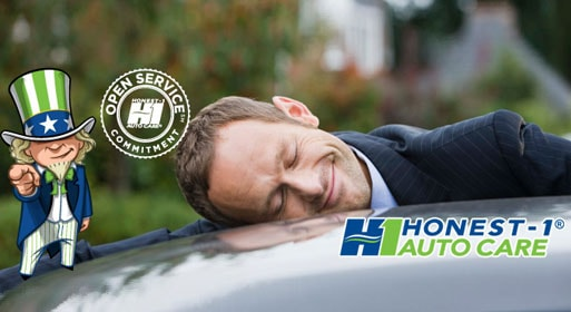 Honest-1 Auto Care Uptown - Open Service Commitment